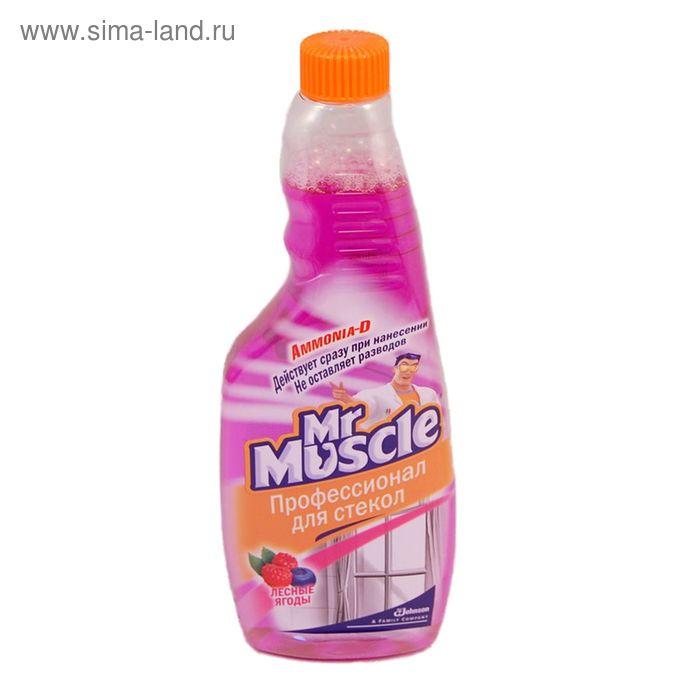 """Чистящее и моющее средство Mr. Muscle """"Лесные ягоды"""" для стёкол и других поверхностей, 500 мл"""
