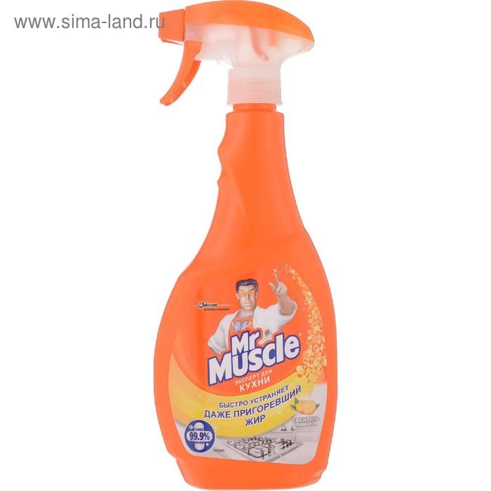 """Чистящее и моющее средство Mr. Muscleс """"Свежесть лимона"""" для кухни, 500 мл"""