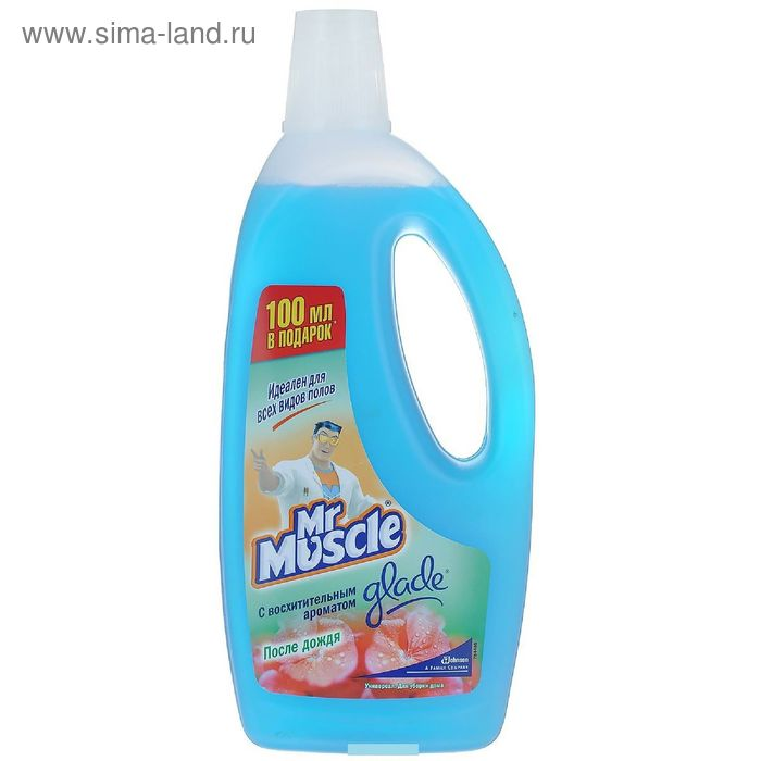 """Чистящее и моющее средство Mr. Muscle """"После дождя"""", универсал , 750 мл"""