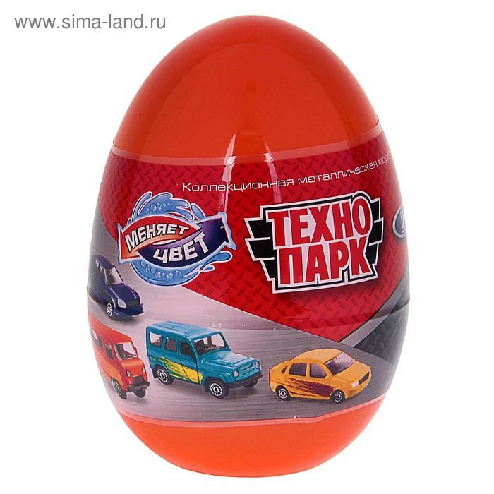 """Машинка металлическая """"Уаз, Лада"""" менят цвет в воде, в яйце 7,5см МИКС SB-15-58"""