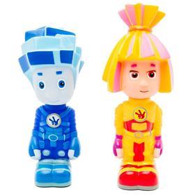 Набор игрушек для ванной «Симка и Нолик»