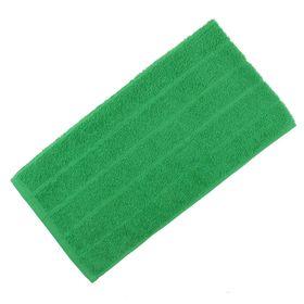 Полотенце махровое, цвет зелёный, размер 30х60 см, хлопок 280 г/м2 Ош