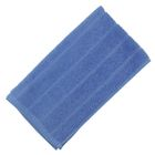 Полотенце махровое, цвет синий, размер 30х60 см, хлопок 280 г/м2