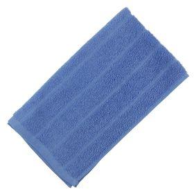 Terry towel, blue, size 30x60 cm, cotton 280 g / m2