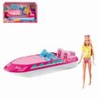 Кукла Barbie на катере