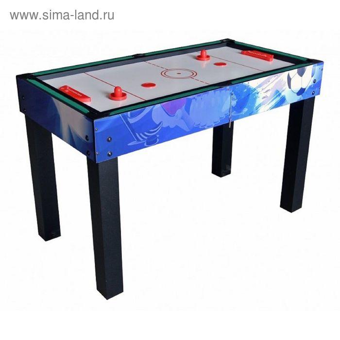 """Многофункциональный игровой стол 12 в 1 """"Universe"""" (синий)"""