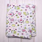 Простынка для девочки, размер 85*100 см, цвет МИКС 05-08Фн