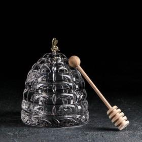 """Емкость для меда 200 мл """"Улей с пчелкой"""", 11,8 см в Донецке"""