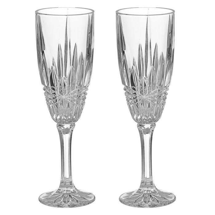 Набор фужеров для шампанского 180 мл Vibes, 2 шт