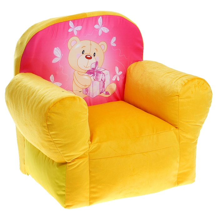 "Мягкая игрушка ""Кресло Мишутка"", цвета МИКС"