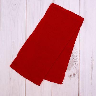 Шарф для девочки, размер 100х12 см, цвет красный (арт. 1195_Д)