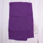 Шарф для девочки, размер 137х21 см, цвет сиреневый (арт. 1196_Д)