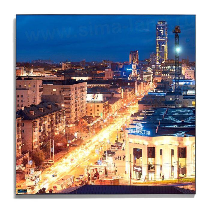 Авторская фотокартина «Динамика ночного города»