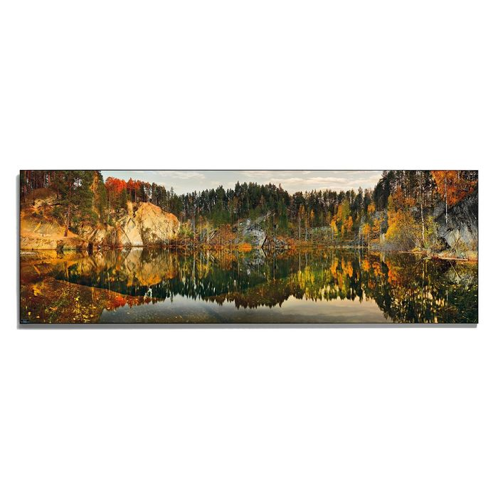 Авторская фотокартина «Погружение в осень»