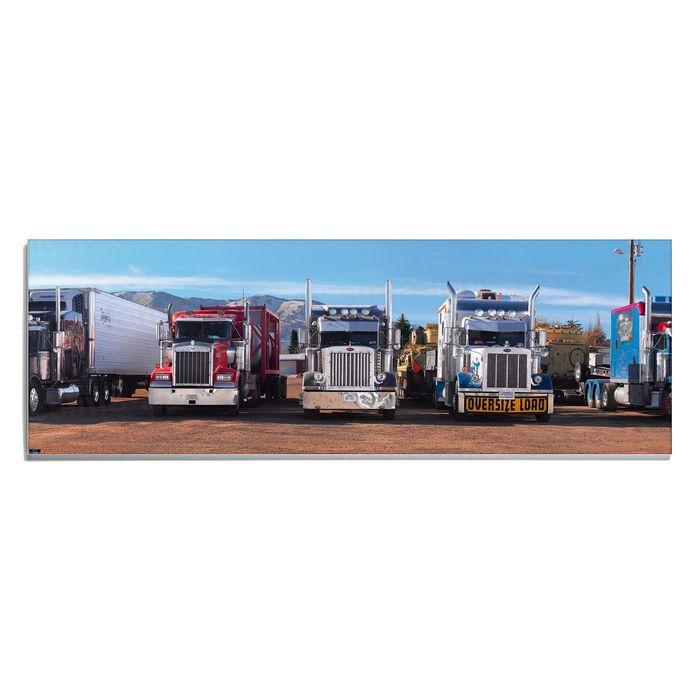 Авторская фотокартина «Короли автострады»