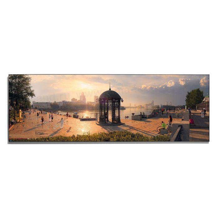 Авторская фотокартина «Променад на Плотинке»