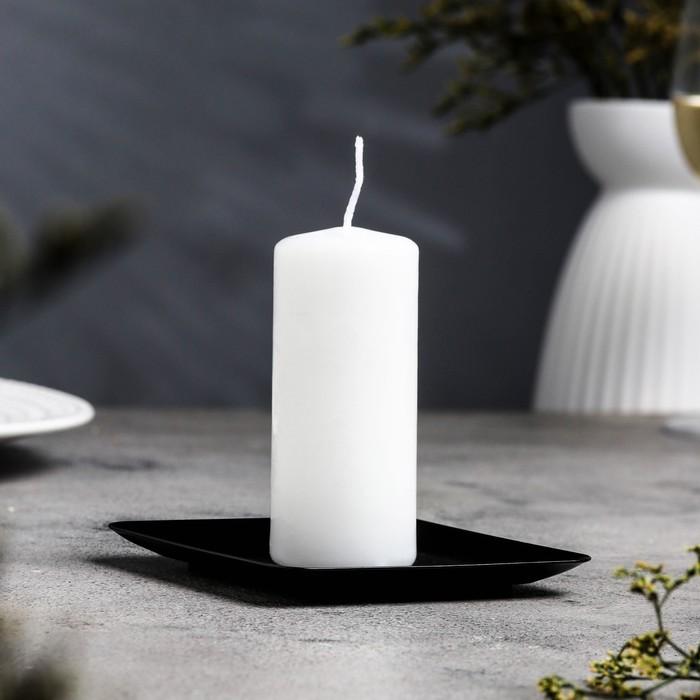 Подсвечник тарелка квадратная 100х100 №1