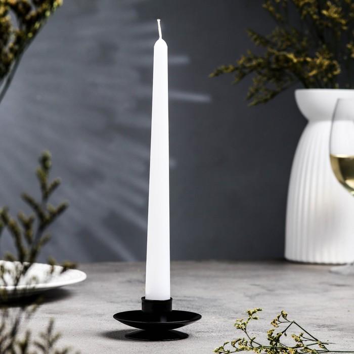 Подсвечник лотос 2Н черный