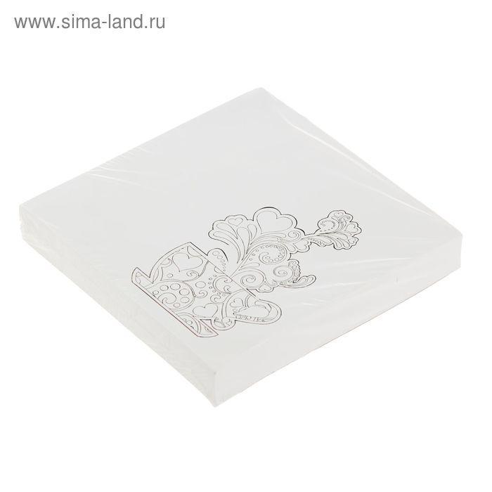 """Блок бумаги для записей Антистресс 13*13см, 200л, 70г """"Кофе"""", офсет"""