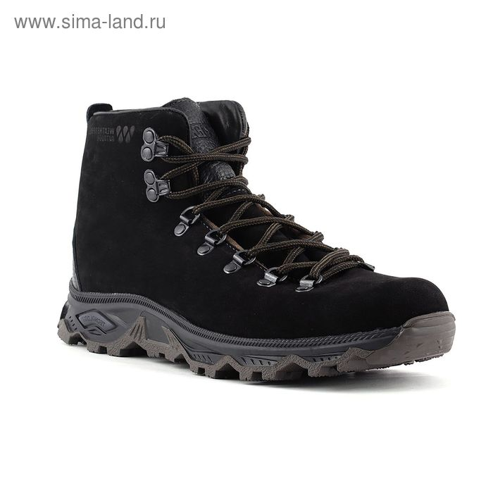 Ботинки TREK Викинг 81-46 мех (нубук черный) (р. 39)