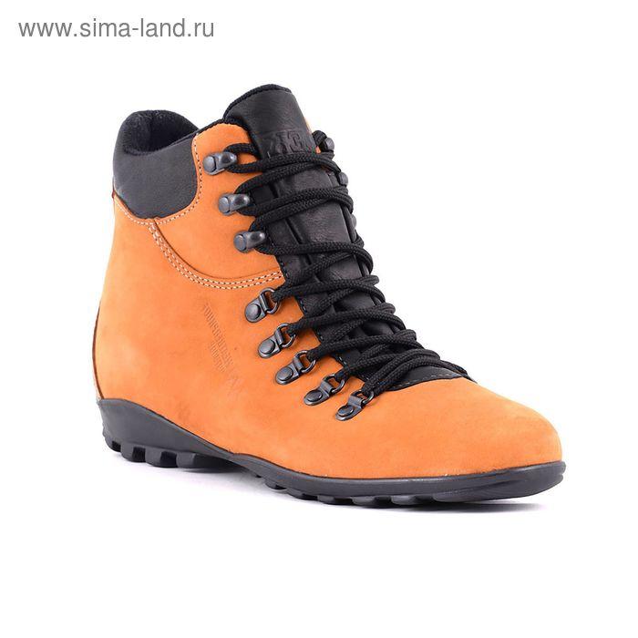 Ботинки TREK Карла 94-12 мех (желтый) (р. 40)