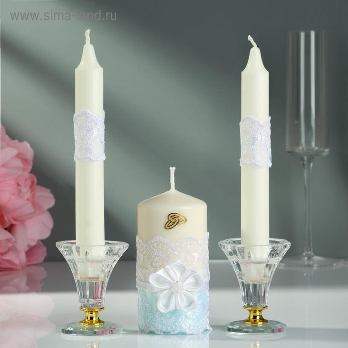 Набор свечей «Семейный очаг», 3 шт.