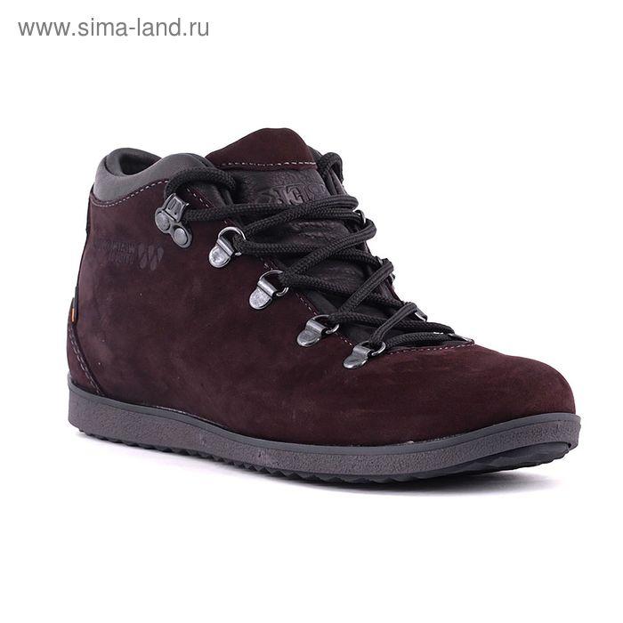 Ботинки TREK Спорт 77-23 мех (  коричневый ) (р. 41)