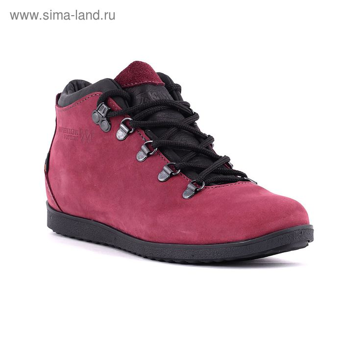 Ботинки TREK Спорт 77-30 мех (бордо/розовый) (р. 41)