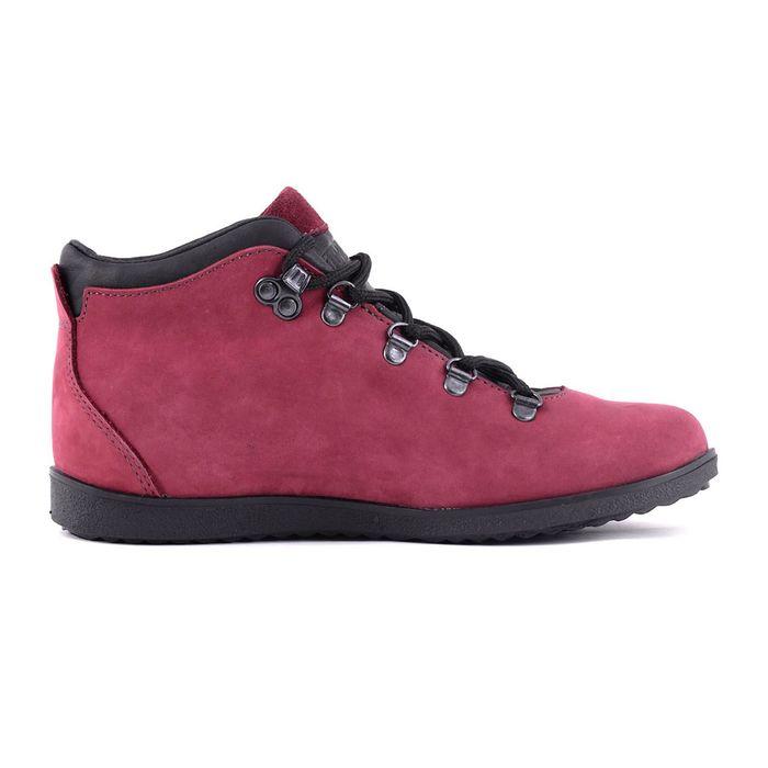 Ботинки TREK Спорт 77-30 мех (бордо/розовый) (р. 36)