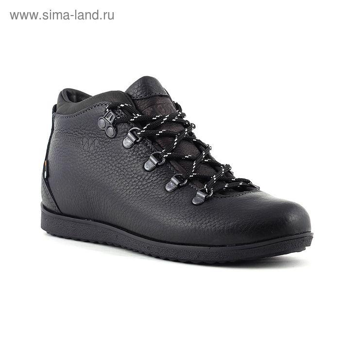 Ботинки TREK Спорт 77-56 мех (черный) (р. 41)