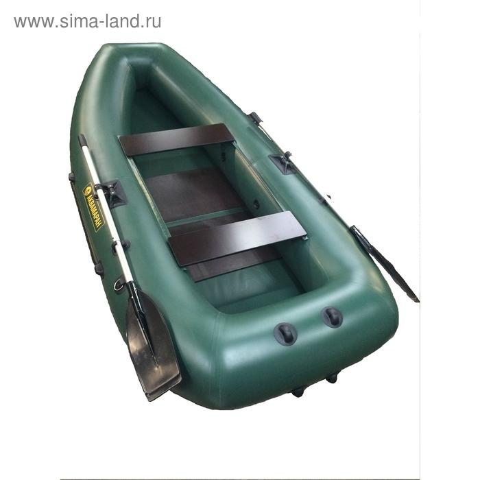 Надувная моторно-гребная лодка Аквамаран 280 Т