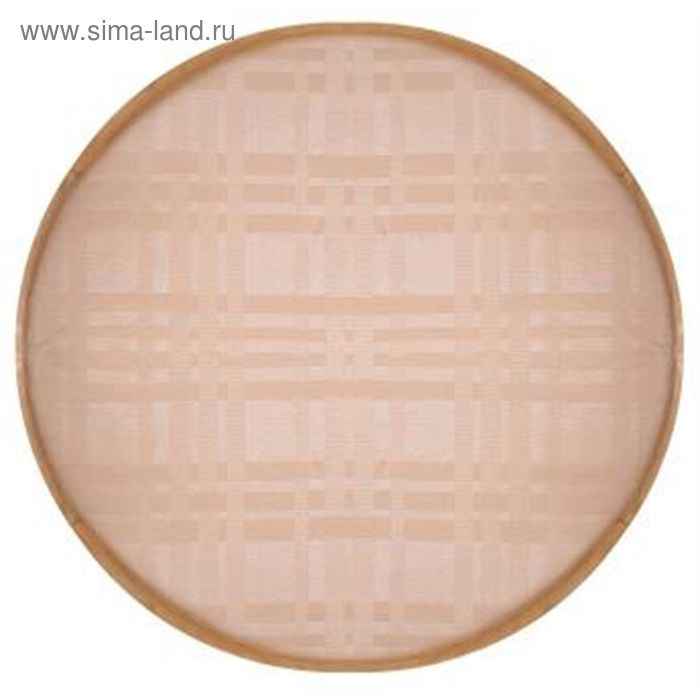 Подушка на табурет круглая, диаметр 34 см, ПВХ 1707208