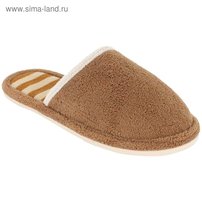 """Тапочки женские """"Эконом"""", размер 36-40, цвет песочный 135-5956 А"""