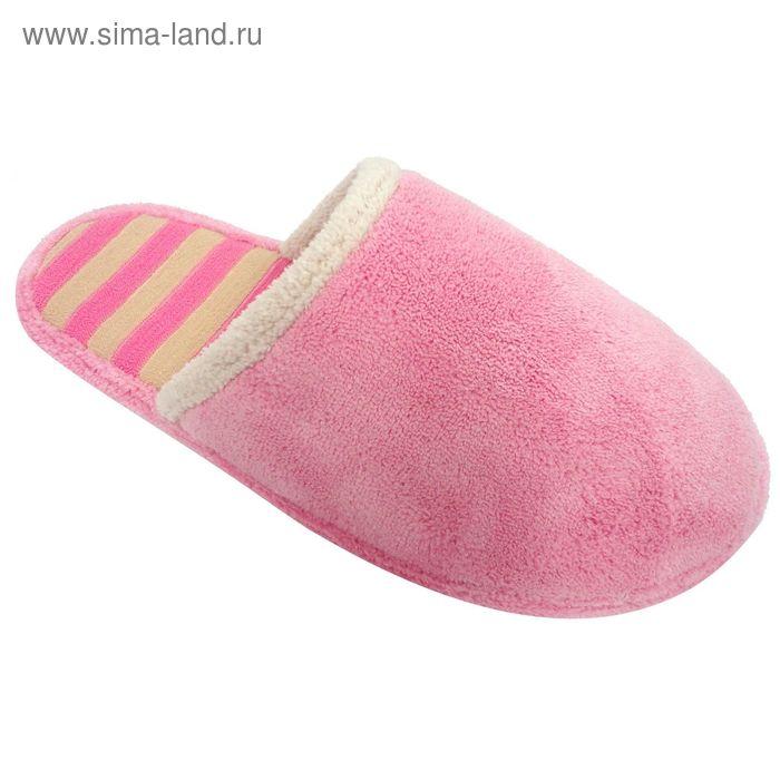"""Тапочки женские """"Эконом"""", размер 36-40, цвет розовый 135-5958 А"""