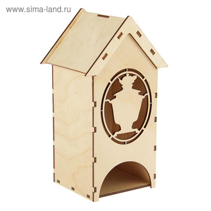 Чайный домик с самоваром (набор 9 деталей)