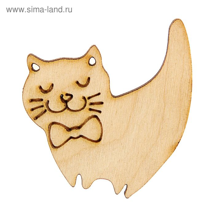 """Заготовка""""Добрый кот"""" 5см"""