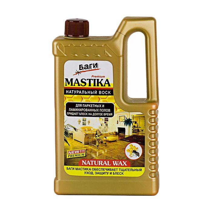 Средство для пола с натуральным воском Bagi Mastika, 500 мл