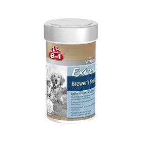 Пивные дрожжи 8in1 Excel для кошек и собак,  140 таб.