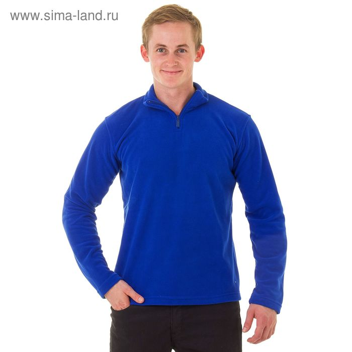 Джемпер-толстовка мужской арт.980, цвет джинс, р-р 2XL