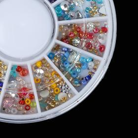 Assorted decoration nail art decoration, 12 cells, MIX color