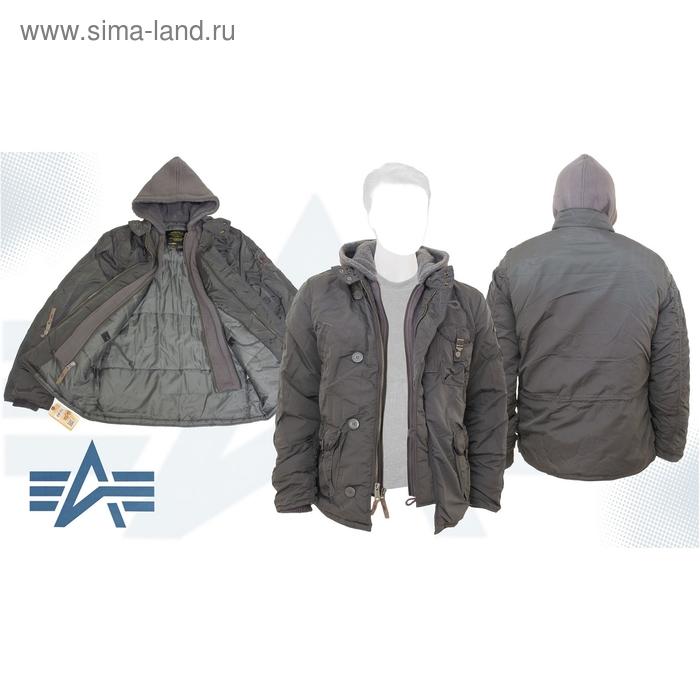 Куртка утеплённая Cobbs II Alpha Industries Dark Gun Metal, XL