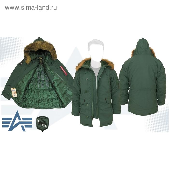 Куртка утеплённая Altitude Parka Alpha Industries Forest Green, 3XL