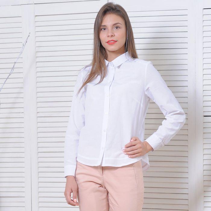 27181265939591a Рубашка женская 5170, размер 42, рост 164 см, цвет белый в Бишкеке ...