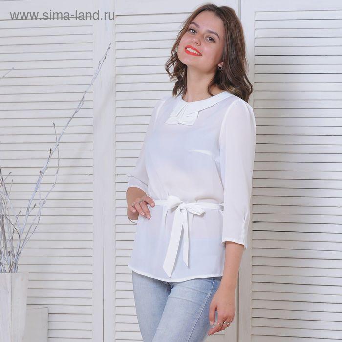 Блуза 5172 С+, размер 50, рост 164 см, цвет белый