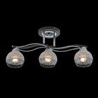 3 лампы, хром