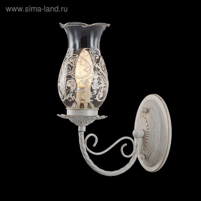 "Бра ""Фемида"" 1 лампа 60W Е14 белый/золото"