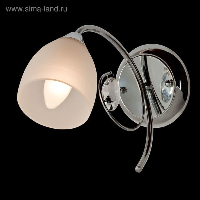 """Бра """"Лея"""" 1 лампа 40W Е14 хром"""