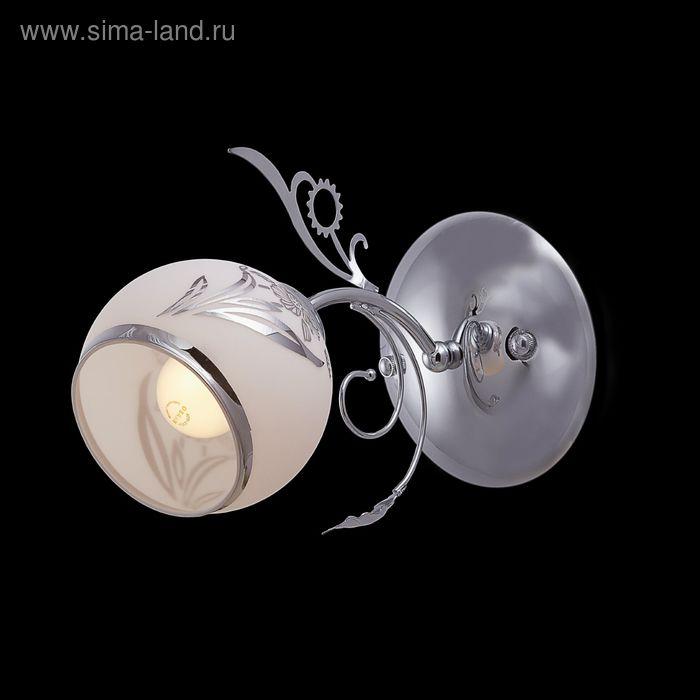 """Бра """"Талия"""" 1 лампа 60W Е27 хром"""