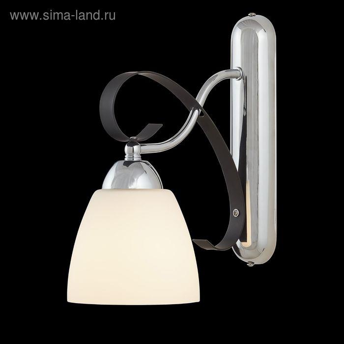 "Бра ""Агнесс"" 1 лампа 60W Е27 хром/черный"