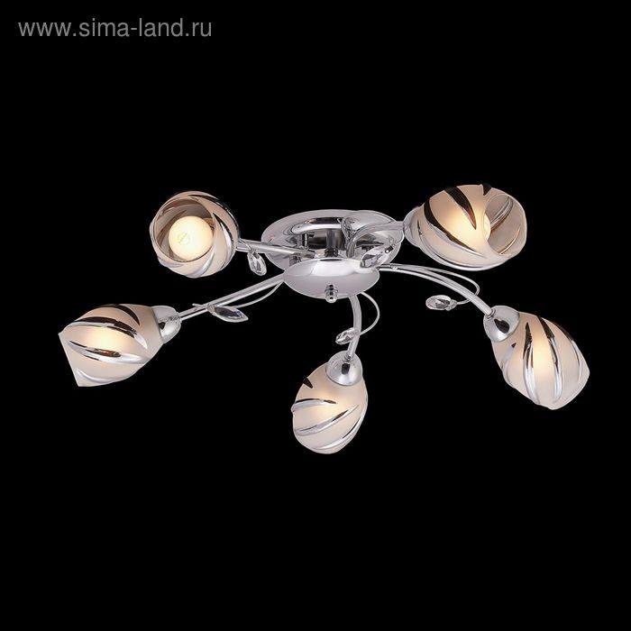"Люстра ""Галия"" 5 ламп 60W Е14 хром"